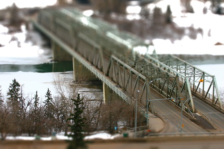 A miniature of Low-level bridge after a snow fall