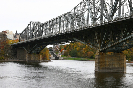 Alexandra Bridge crossing between Ottawa and Ile de Hull