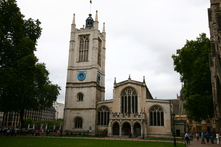 the abbey: Westminster Abbey