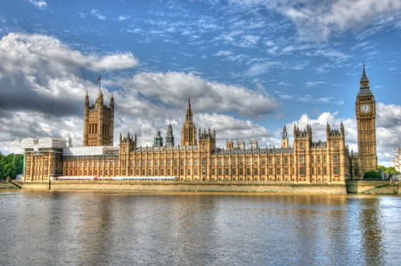 A creative HDR image of House of Parliament and Big Ben