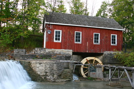 Decew Falls in Ontario near Niagra and close to the Morningstar mill