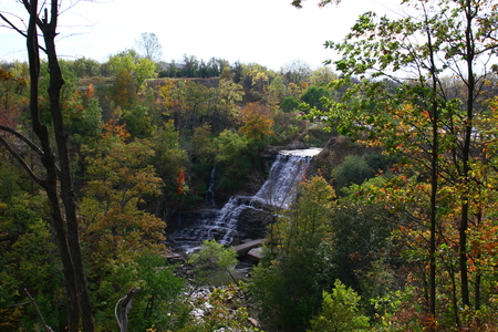Albion Waterfalls in Hamilton in the GTA area