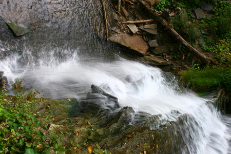 Smokey Hollow waterfalls in Waterdown near the GTA area