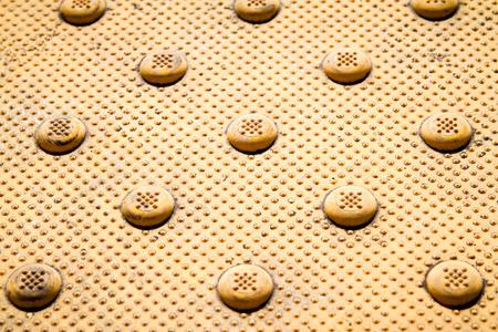 Reflective Dimple Ramp Pattern