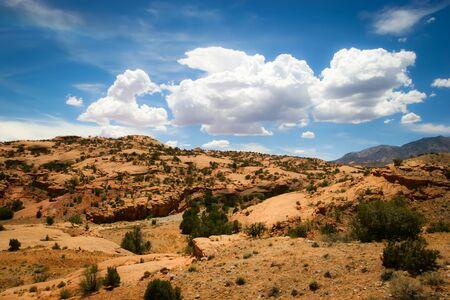 アリゾナ州赤発掘情景 写真素材