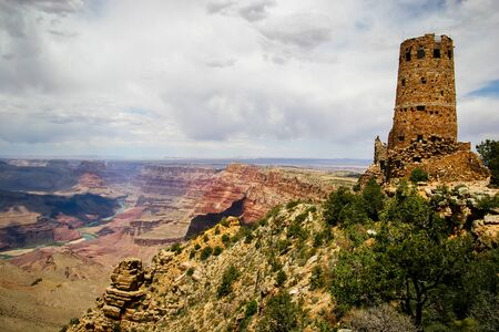 Arizona Canyon Scene Stok Fotoğraf