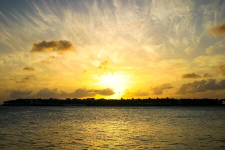 key of paradise: Key West Sunset Over Sunset Key