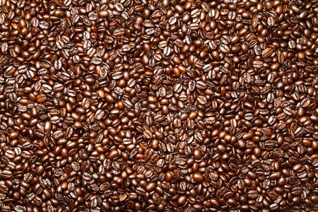 Roasted Coffee Beans Background Stok Fotoğraf