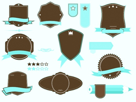 vector badges pack Stock Vector - 19650785