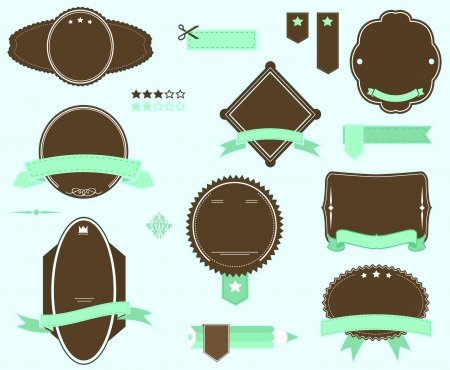 vector badges pack Stock Vector - 20110015