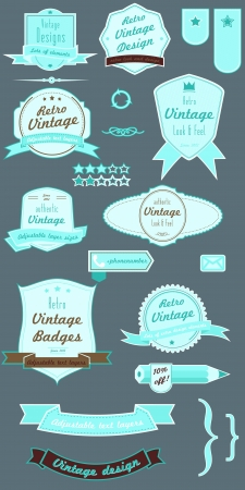 vector badges pack Stock Vector - 20110018