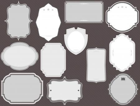 vector frames pack Stock Vector - 20110016