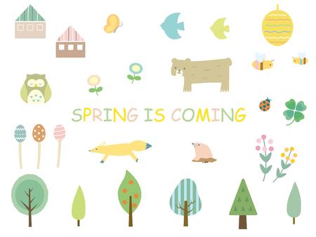 Spring design Ilustracja