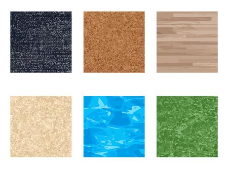Natural texture set