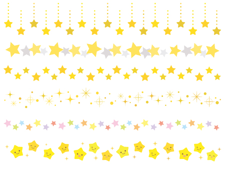 Star line Vettoriali
