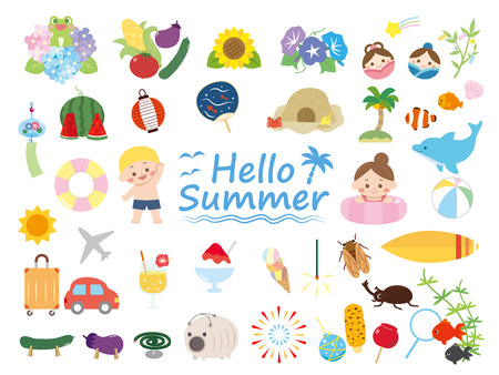 Summer seamles set