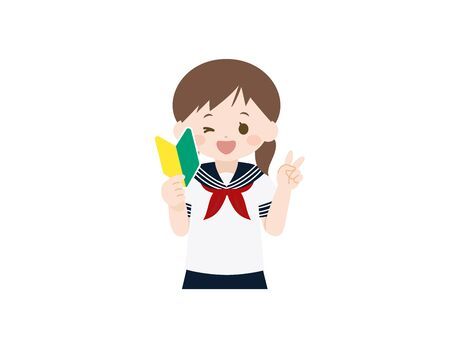 It is an illustration of a Students beginner.