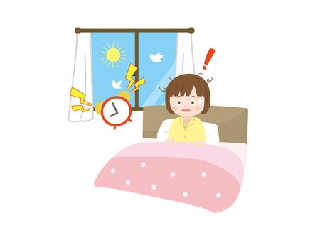 It Is An Situation of a Sleep Girl.
