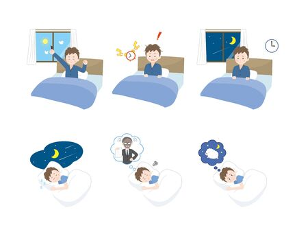 It Is An Illustration of a Sleep.