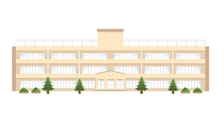 School building. Standard-Bild - 147850583