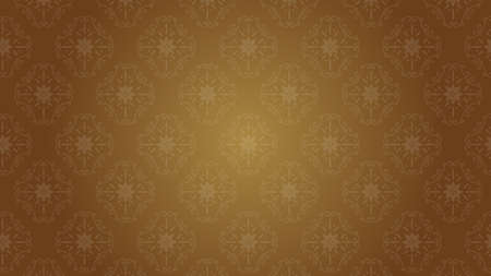 It is an illustration of a Damask background Brown.