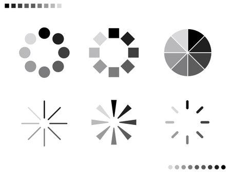 It is an illustration of a Gradation timer set. Иллюстрация