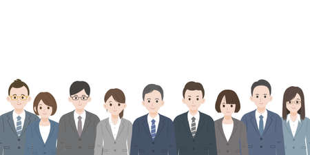 It is an illustration of a Business person.