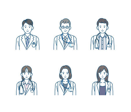 It is an illustration of a Doctor and science doctor.