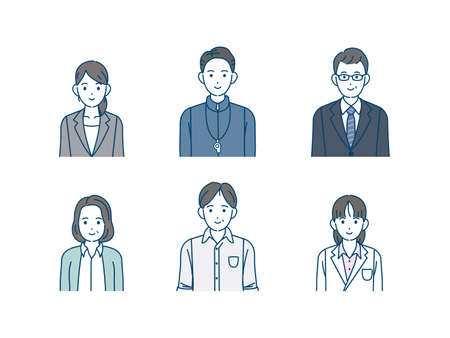 It is an illustration of a School teacher.