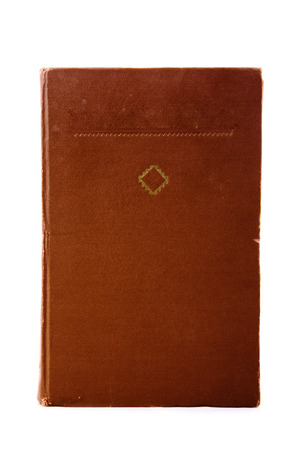 Old book cover with  ornament photo