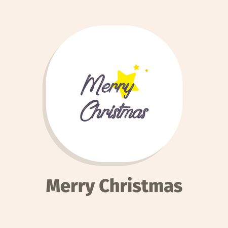 Merry Christmas isometric vector illustrations icons for web and mobile applications