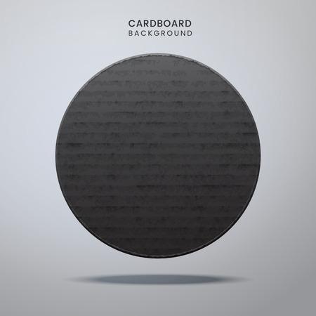 Cardboard vintage texture Vector illustration Illustration