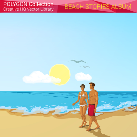 Polygon Home Liry Design on