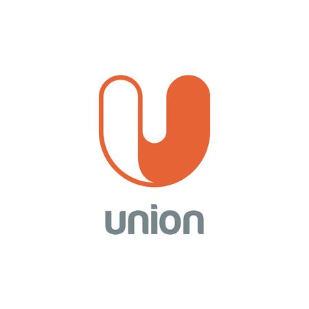letter u: Letter U Logo design vector template.  Font Logotype