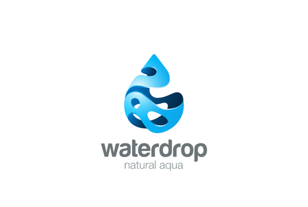 droplets: Water drop  abstract design vector template splash style. Waterdrop Oil Aqua droplet  concept icon. Illustration