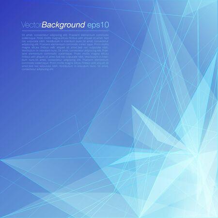 fondos azules: colorido compañía corporativa plantilla azul con estilo moderno poligonal haz de luz triangular atractiva documento de negocio de fondo. El sitio Web Colección de los elementos fondos.