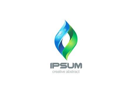 Yoga SPA Healthcare Logo design vector template. Eco Natural Organic Cosmetics Logotype concept icon