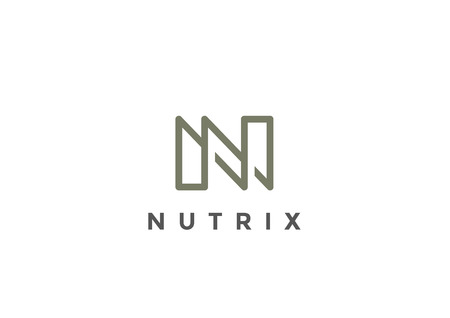 Letter N Logo Monogram design vector template Linear style. Corporate Business Luxury Fashion Logotype concept symbol