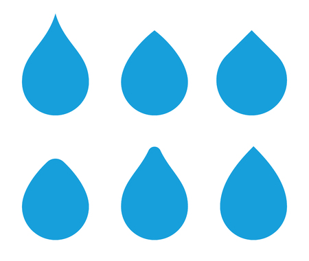 Water Drops Template