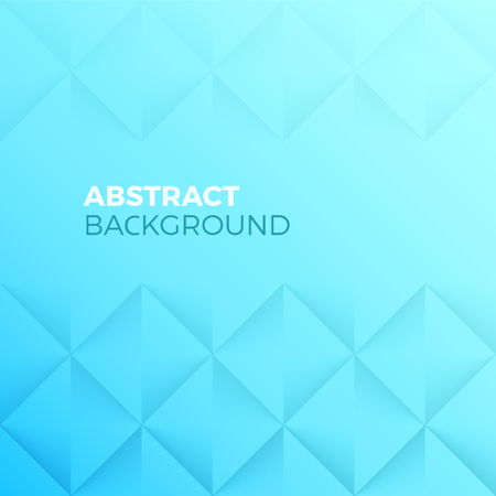 Aquamarine Abstract Shape and Textured vector Background with empty Copyspace to enter your text. Quadrilateral pyramid wall with 3d effect.