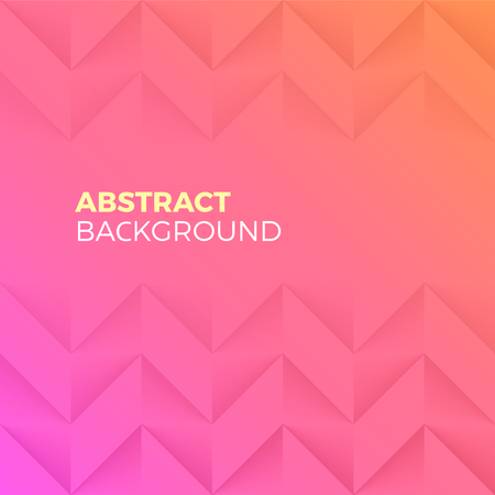 textured effect: Pink Abstract Shape and Textured vector Background with empty Copyspace to enter your text. Parallelogram corners wavy wall with 3d effect. Illustration