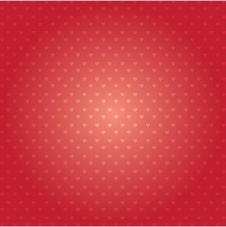 Herz-Vektor-Musterdesign. Glücklicher Valentinstag-Zusammenfassungshintergrund