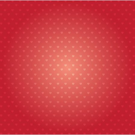 Hearts vector pattern design. Happy Valentines day abstract background