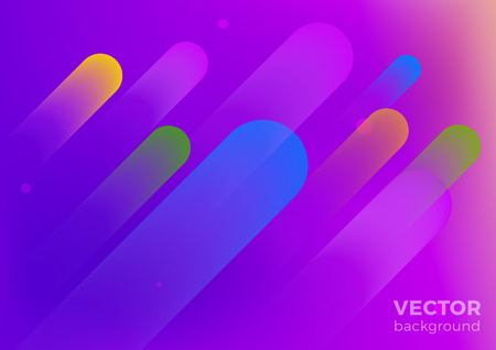 Geometric Fluid abstract motion vector Background. Poster Banner design template ultraviolet style.