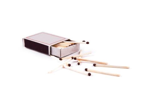 matchbox: Matchbox isolated on white background