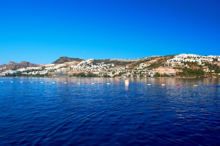 Aegean Sea Landscape in Bodrum, Turkey photo