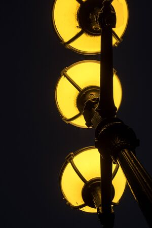 street lamps: street lamps Stock Photo