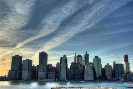 Skyline of Manhattan Stock Photo - 6904024