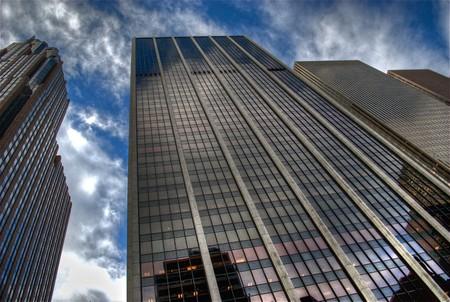 ミッドタウンの高層ビル