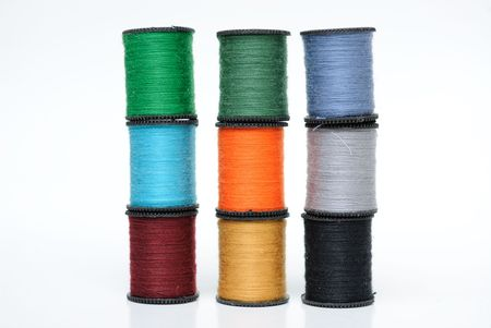 Colorful Spool Threads Stock Photo - 7059237